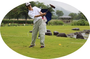 H27年度全日本大学及び日本木球選手権チャンピオン