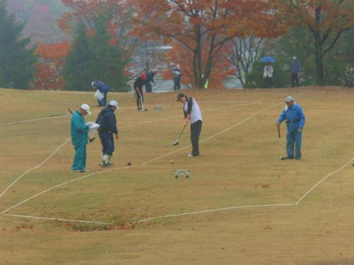 日本木球選手権大会3